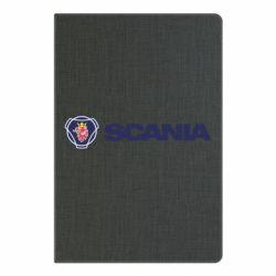 Блокнот А5 Scania Logo