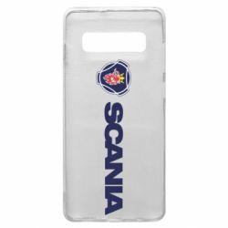Чохол для Samsung S10+ Scania Logo
