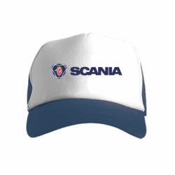 Дитяча кепка-тракер Scania Logo
