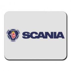 Килимок для миші Scania Logo