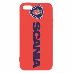 Чохол для iphone 5/5S/SE Scania Logo