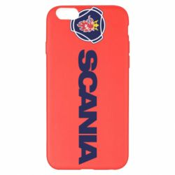 Чохол для iPhone 6 Plus/6S Plus Scania Logo