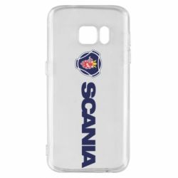 Чохол для Samsung S7 Scania Logo