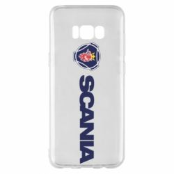 Чохол для Samsung S8+ Scania Logo