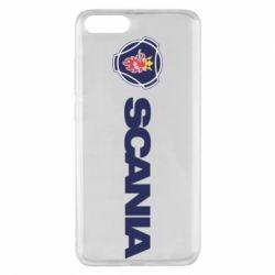 Чохол для Xiaomi Mi Note 3 Scania Logo