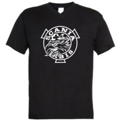 Чоловіча футболка з V-подібним вирізом Scania vabis logo