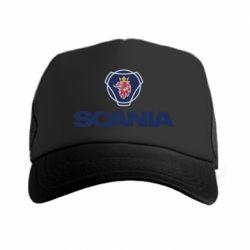 Кепка-тракер Scania