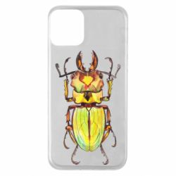 Чехол для iPhone 11 Scarab beetle