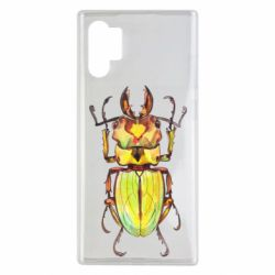 Чехол для Samsung Note 10 Plus Scarab beetle