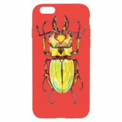 Чехол для iPhone 6/6S Scarab beetle