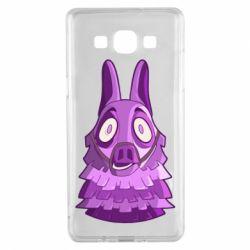 Чохол для Samsung A5 2015 Scared llama from fortnite