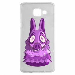 Чохол для Samsung A5 2016 Scared llama from fortnite