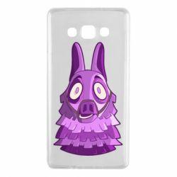Чохол для Samsung A7 2015 Scared llama from fortnite