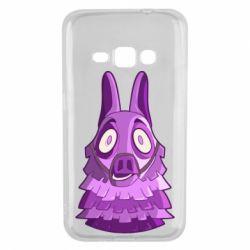 Чохол для Samsung J1 2016 Scared llama from fortnite