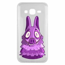 Чохол для Samsung J5 2015 Scared llama from fortnite