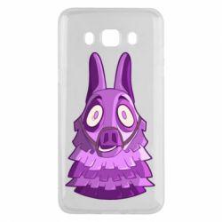 Чохол для Samsung J5 2016 Scared llama from fortnite
