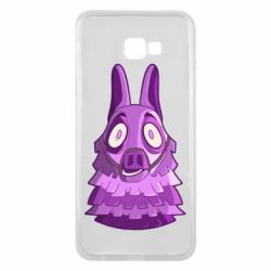 Чохол для Samsung J4 Plus 2018 Scared llama from fortnite