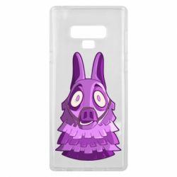 Чохол для Samsung Note 9 Scared llama from fortnite