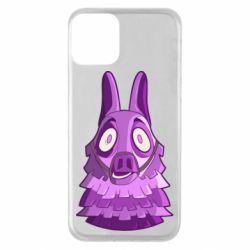Чохол для iPhone 11 Scared llama from fortnite