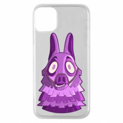 Чохол для iPhone 11 Pro Scared llama from fortnite