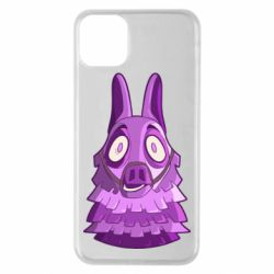 Чохол для iPhone 11 Pro Max Scared llama from fortnite