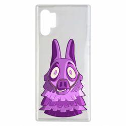 Чохол для Samsung Note 10 Plus Scared llama from fortnite
