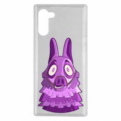 Чохол для Samsung Note 10 Scared llama from fortnite
