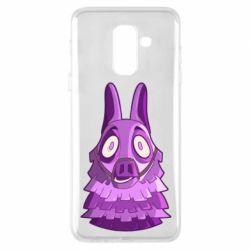 Чохол для Samsung A6+ 2018 Scared llama from fortnite