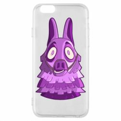 Чохол для iPhone 6/6S Scared llama from fortnite