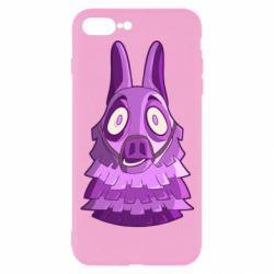 Чохол для iPhone 7 Plus Scared llama from fortnite