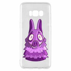 Чохол для Samsung S8 Scared llama from fortnite