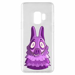 Чохол для Samsung S9 Scared llama from fortnite