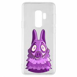 Чохол для Samsung S9+ Scared llama from fortnite