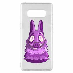 Чохол для Samsung Note 8 Scared llama from fortnite