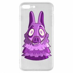 Чохол для iPhone 8 Plus Scared llama from fortnite