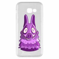 Чохол для Samsung A5 2017 Scared llama from fortnite