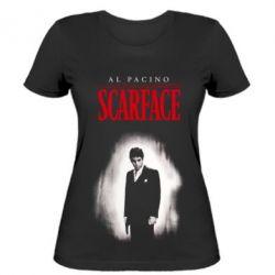 Жіноча футболка Scarface Platinum