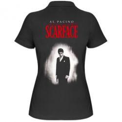 Жіноча футболка поло Scarface Platinum
