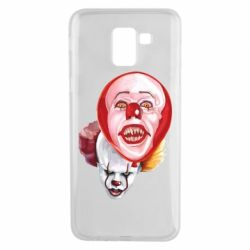Чохол для Samsung J6 Scary Clown