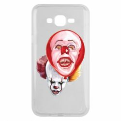 Чохол для Samsung J7 2015 Scary Clown