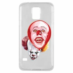 Чохол для Samsung S5 Scary Clown