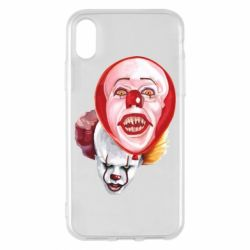 Чохол для iPhone X/Xs Scary Clown