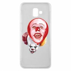 Чохол для Samsung J6 Plus 2018 Scary Clown