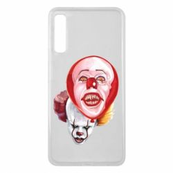 Чохол для Samsung A7 2018 Scary Clown