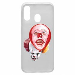 Чохол для Samsung A40 Scary Clown