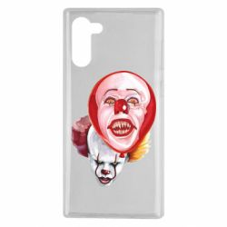 Чохол для Samsung Note 10 Scary Clown
