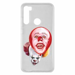 Чохол для Xiaomi Redmi Note 8 Scary Clown