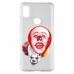 Чохол для Xiaomi Redmi S2 Scary Clown