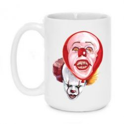 Кружка 420ml Scary Clown