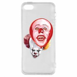 Чохол для iphone 5/5S/SE Scary Clown